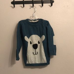Cute polar bear knit sweater